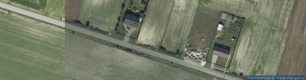 Zdjęcie satelitarne Srebrzyszcze ul.