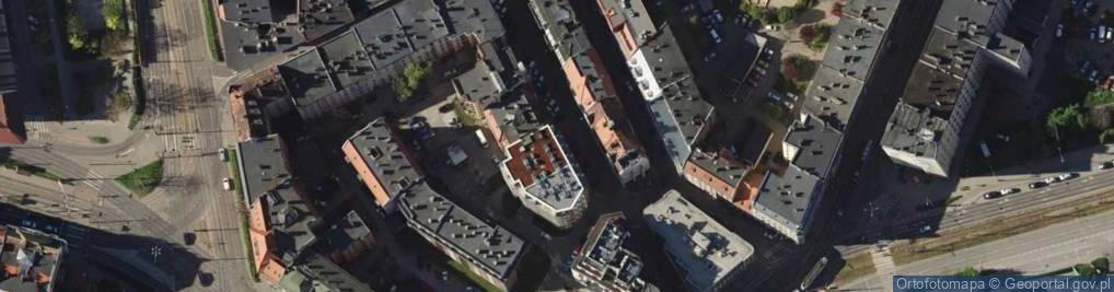Zdjęcie satelitarne Śrutowa ul.