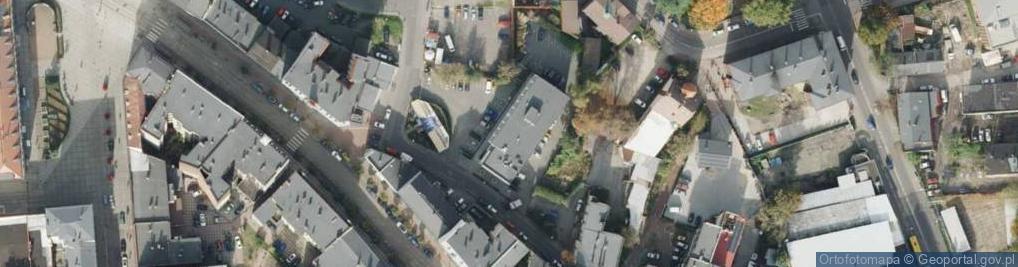 Zdjęcie satelitarne Średnia ul.