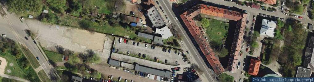 Zdjęcie satelitarne Strzelców Bytomskich ul.
