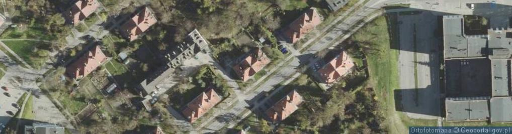 Zdjęcie satelitarne Stephensona George'a ul.