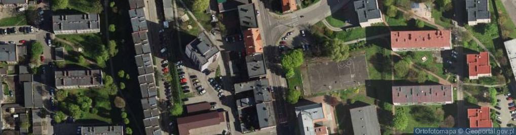 Zdjęcie satelitarne Styczyńskiego Wincentego, dr. ul.