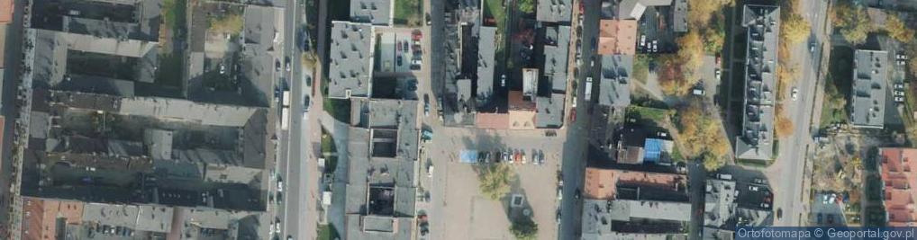 Zdjęcie satelitarne Stary Rynek ul.