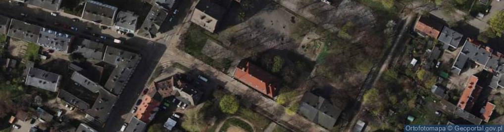 Zdjęcie satelitarne Strajku Dokerów ul.