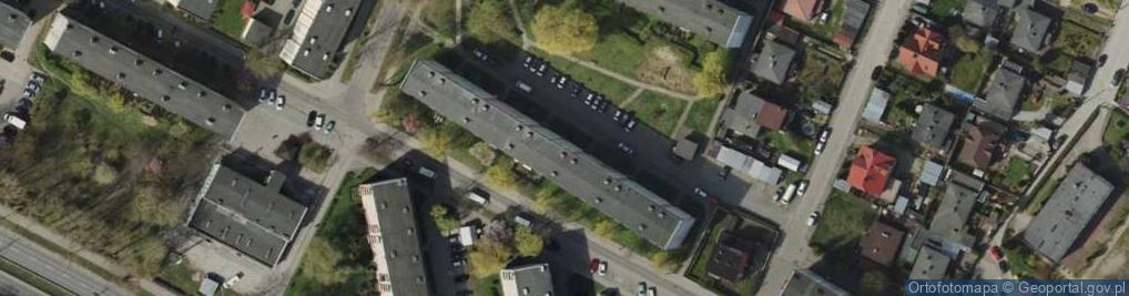 Zdjęcie satelitarne Starogardzka ul.