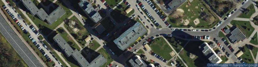 Zdjęcie satelitarne Stachonia Bolesława, ppłk. pil. ul.
