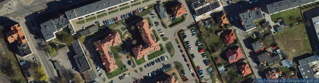 Zdjęcie satelitarne Stachury Edwarda ul.