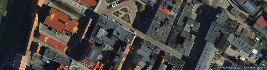 Zdjęcie satelitarne Starorynkowa ul.