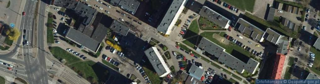 Zdjęcie satelitarne Stefana Batorego ul.