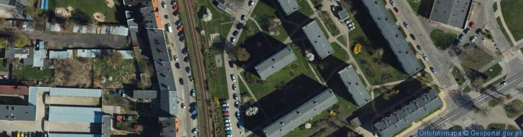 Zdjęcie satelitarne Stobeusza Jana ul.