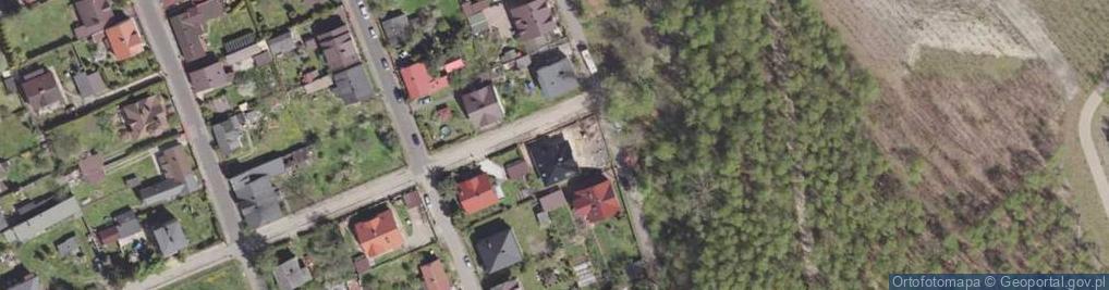 Zdjęcie satelitarne Staszica Stanisława ul.