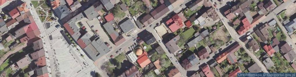 Zdjęcie satelitarne Stojałowskiego Stanisława, ks. ul.