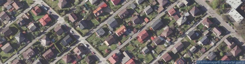 Zdjęcie satelitarne Starzyńskiego Stefana ul.