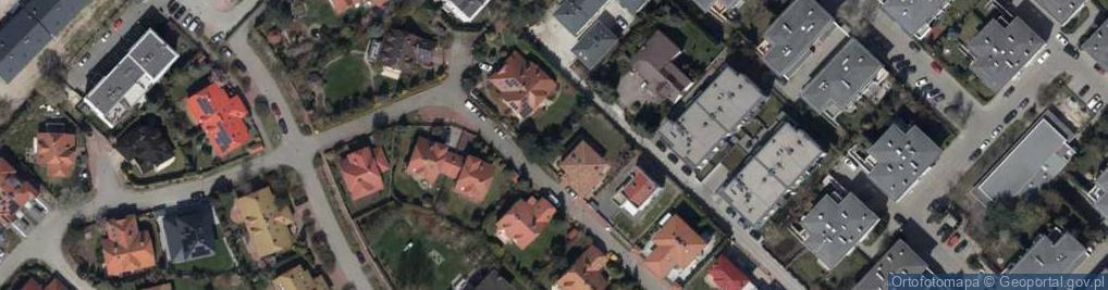 Zdjęcie satelitarne Storczyków ul.