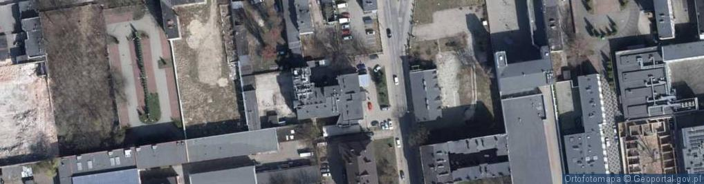 Zdjęcie satelitarne Sterlinga Seweryna, dr. ul.