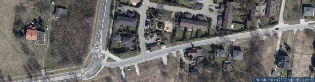 Zdjęcie satelitarne Stokowska ul.
