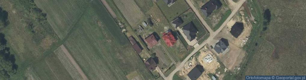 Zdjęcie satelitarne Starzyny ul.