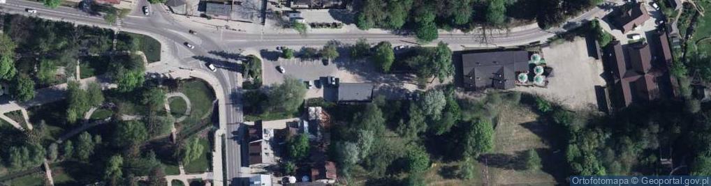 Zdjęcie satelitarne Stanisława Augusta Poniatowskiego ul.