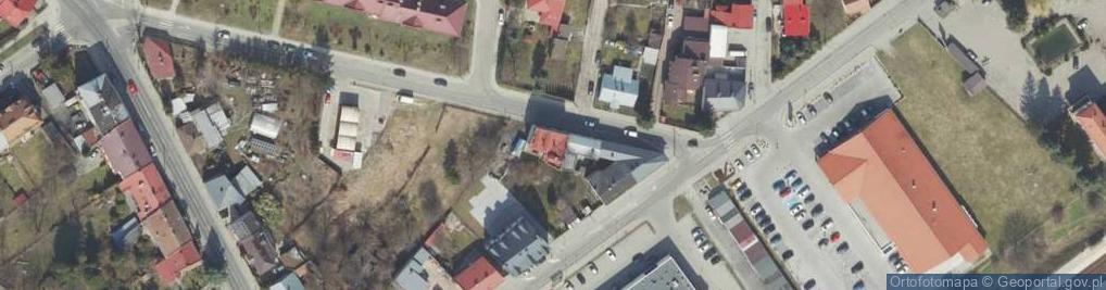 Zdjęcie satelitarne Stanisława Augusta ul.