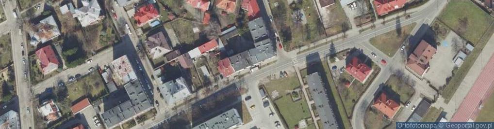 Zdjęcie satelitarne Stanisława Leszczyńskiego ul.
