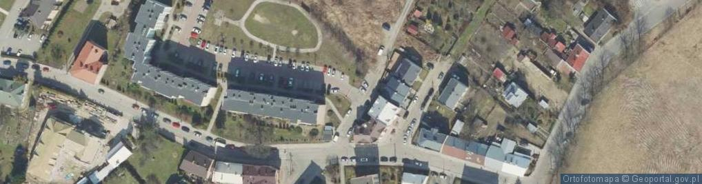 Zdjęcie satelitarne Strażacka ul.