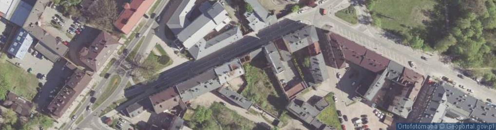 Zdjęcie satelitarne Struga Andrzeja ul.