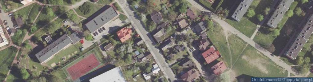 Zdjęcie satelitarne Stasieckiego Eugeniusza, kpt. hm. ul.