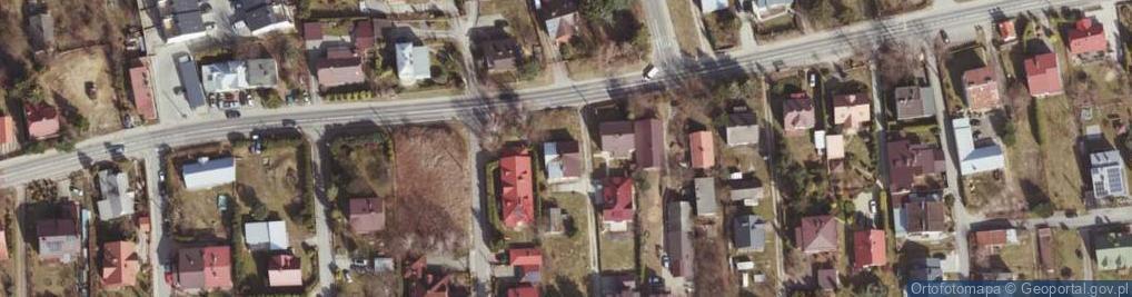 Zdjęcie satelitarne Staroniwska ul.