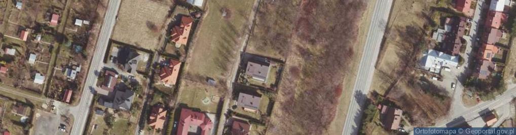 Zdjęcie satelitarne Strzelnicza ul.