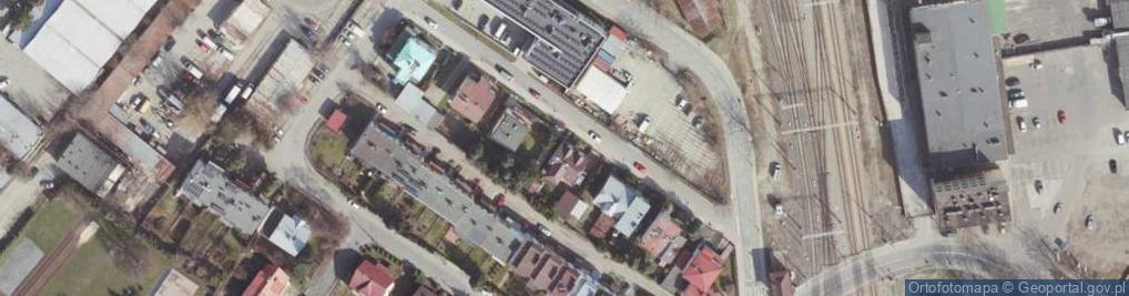 Zdjęcie satelitarne Staffa Leopolda ul.