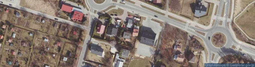Zdjęcie satelitarne Strzyżowska ul.