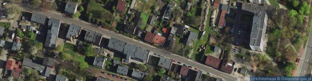 Zdjęcie satelitarne Staropogońska ul.