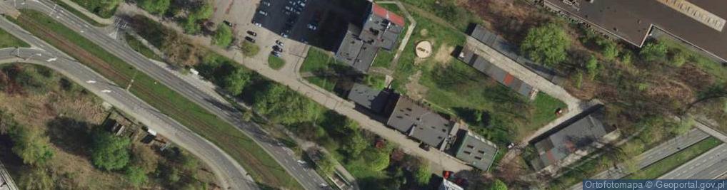 Zdjęcie satelitarne Stalowa ul.