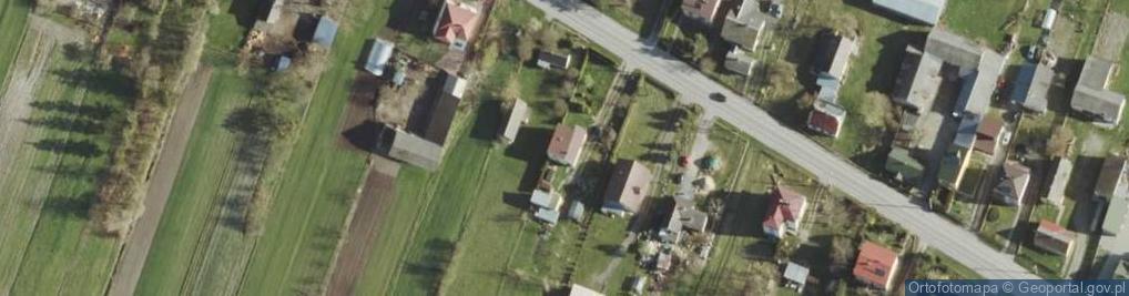 Zdjęcie satelitarne Strupin Duży ul.