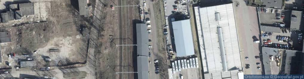 Zdjęcie satelitarne Stacja PKP Turzyn ul.