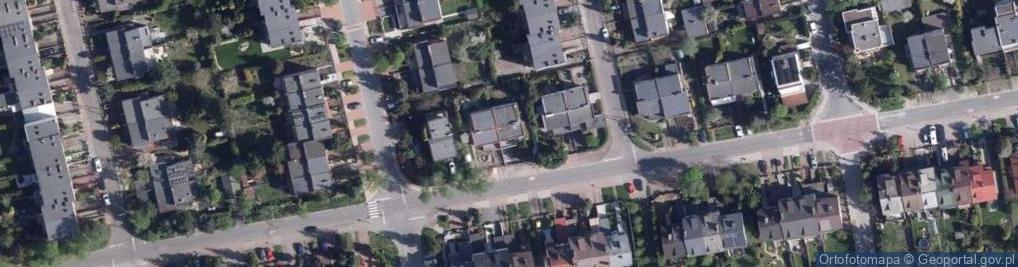 Zdjęcie satelitarne Storczykowa ul.