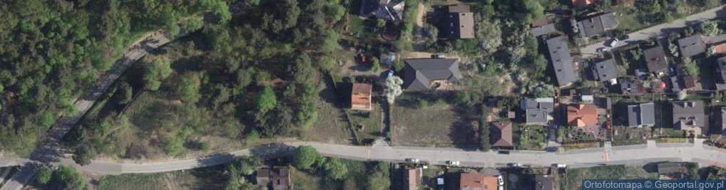 Zdjęcie satelitarne Strzałowa ul.