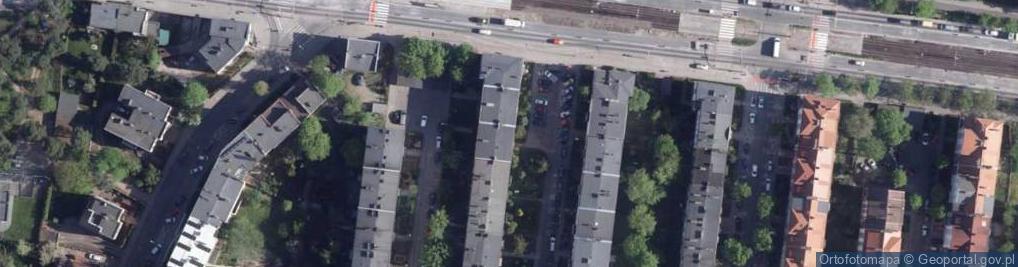 Zdjęcie satelitarne Stwosza Wita ul.