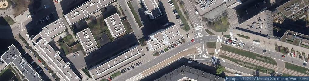 Zdjęcie satelitarne Stawki ul.