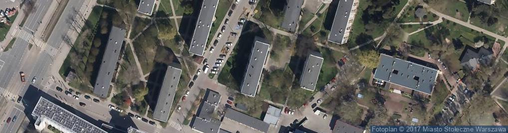 Zdjęcie satelitarne Strubiczów ul.
