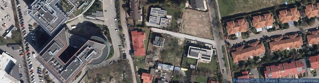Zdjęcie satelitarne Stadionowa ul.