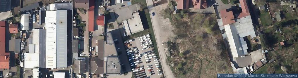 Zdjęcie satelitarne Strużańska ul.