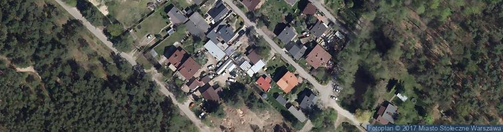 Zdjęcie satelitarne Stawowa ul.