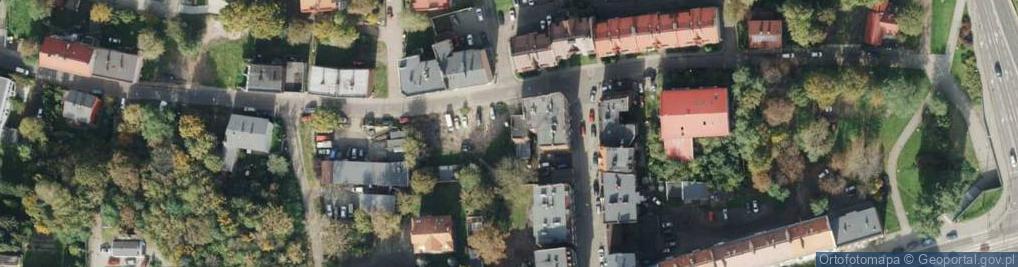 Zdjęcie satelitarne Staromiejska ul.