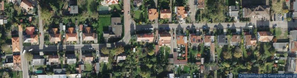 Zdjęcie satelitarne Staropolska ul.