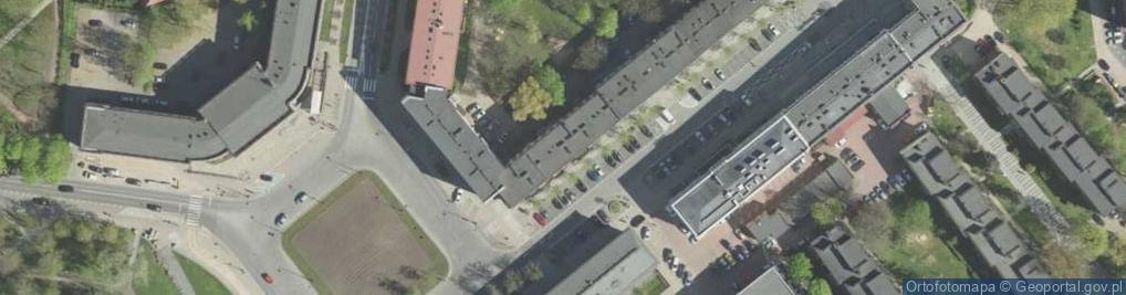 Zdjęcie satelitarne Suraska ul.