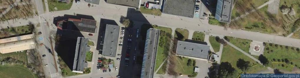 Zdjęcie satelitarne Subisława ul.