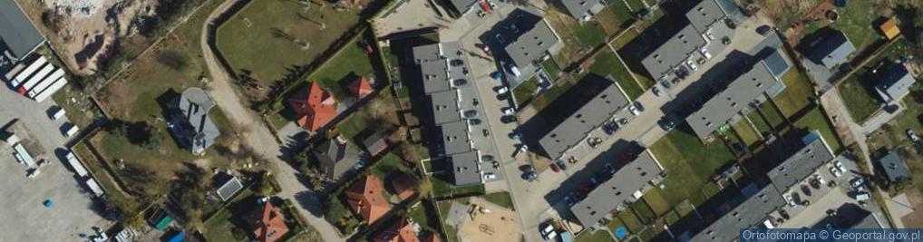 Zdjęcie satelitarne Sujkowskiej S., dr. ul.