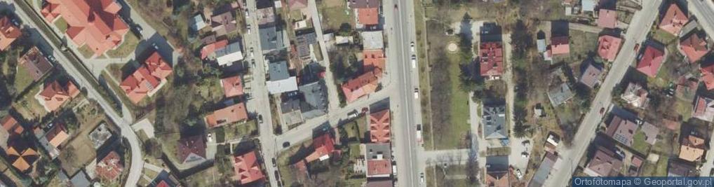 Zdjęcie satelitarne Sułkowskiego Józefa ul.