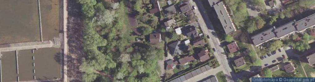 Zdjęcie satelitarne Sucha ul.
